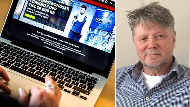 Lars Klawing, samordnare och alkohol- och drogterapeut i Flen