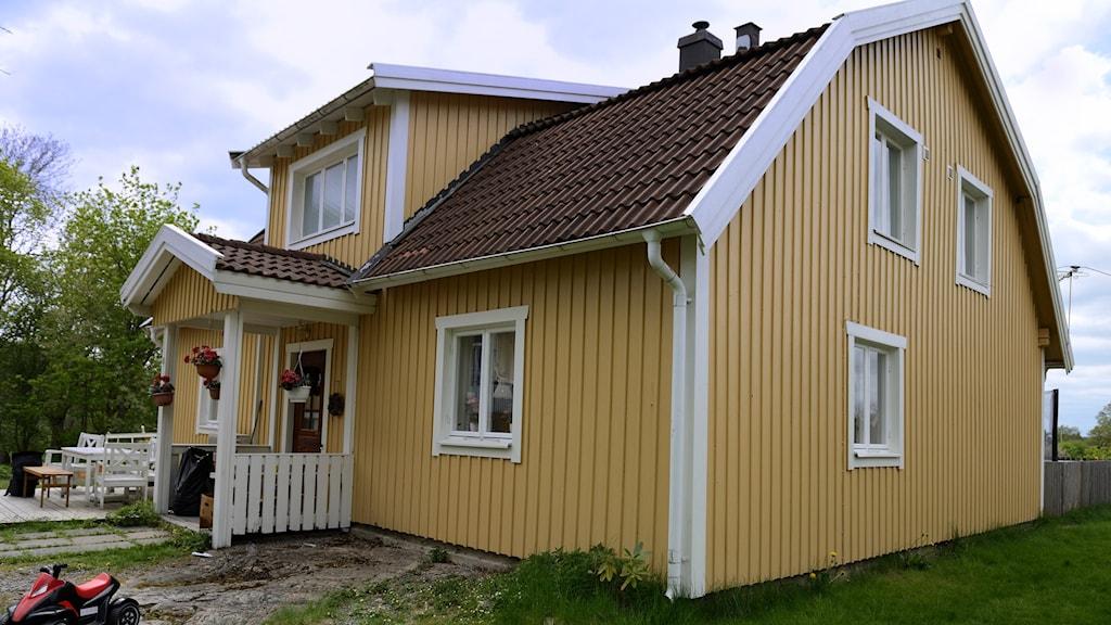 Mögeldrabbat hus i Nyköping