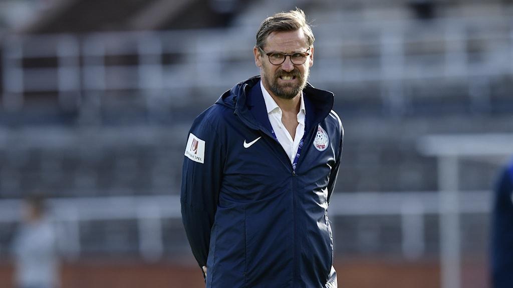 Magnus Karlsson, tränare i Eskilstuna United.