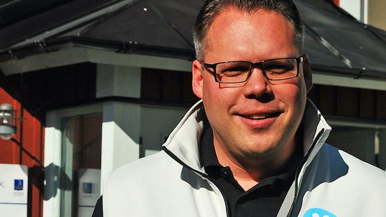 Daniel Portnoff, Moderaterna i Trosa. Foto: Sara Choghrich/Sveriges Radio Sörmland