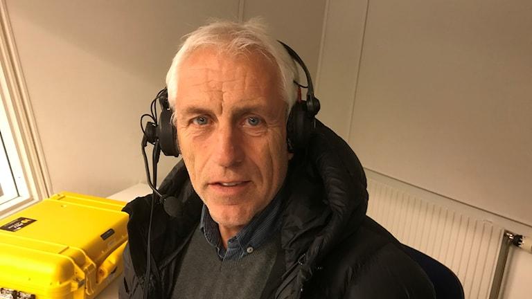 Owe Holmberg P4 Sörmlands hockeyexpert.