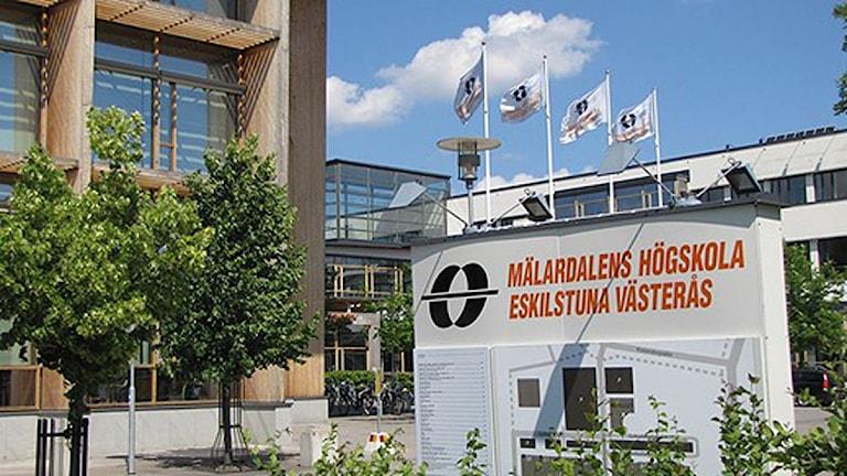 Mälardalens högskola. Foto: Sveriges Radio Sörmland.