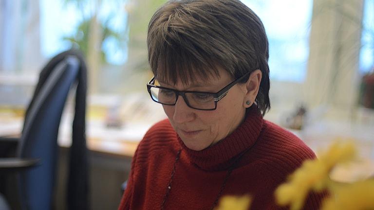 Marianne Andersson (C), Strängnäs. Foto: Per Thyrén, SR Sörmland