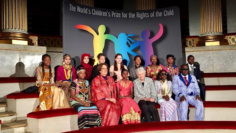 World's Children's Prize 2017 på Gripsholms slott.