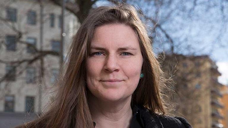 Jennie Schaeffer, designforskare vid Mälardalens högskola