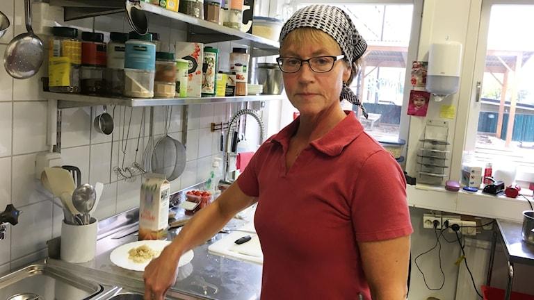 Helene Parri är kock på Rademachergatans förskola.