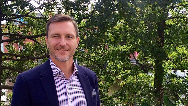 Björn Lindgren, regionschef Svenskt näringsliv Sörmland.