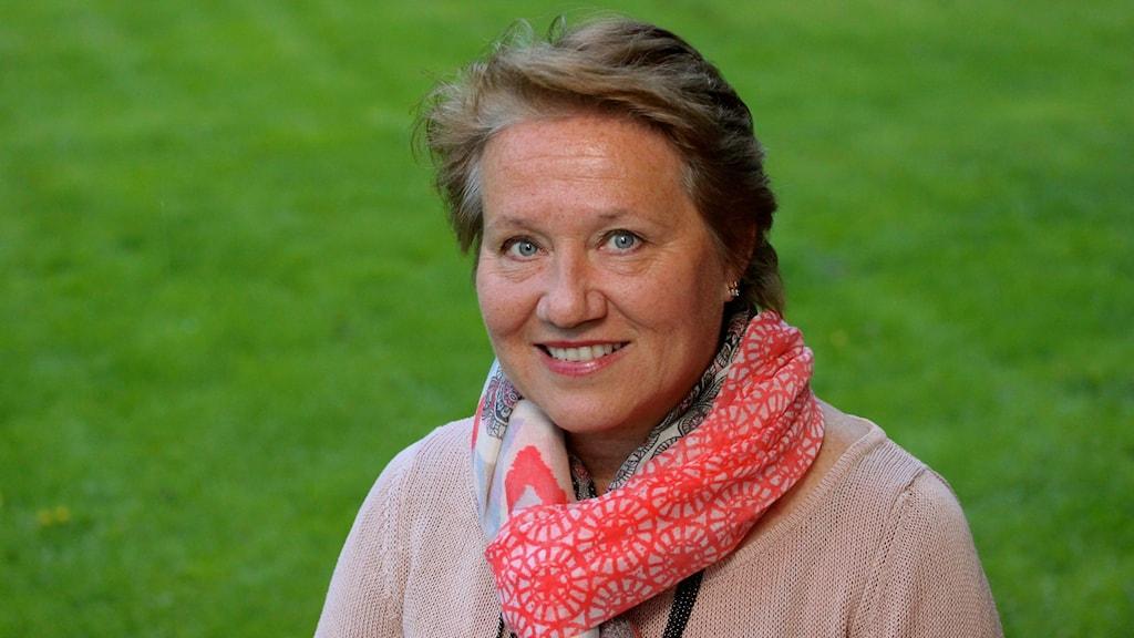 Arja Leppänen från Eskilstuna, årets Cancernätverkare 2020.