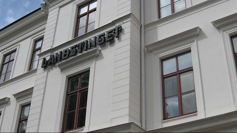 Landstinget. Foto:Katarina Wahlström/Sveriges Radio