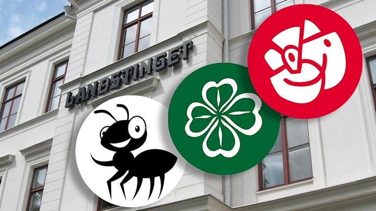 Vård för pengarna, Socialdemokraterna och Centerpartiet bildar majoritet i Landstinget Sörmland.