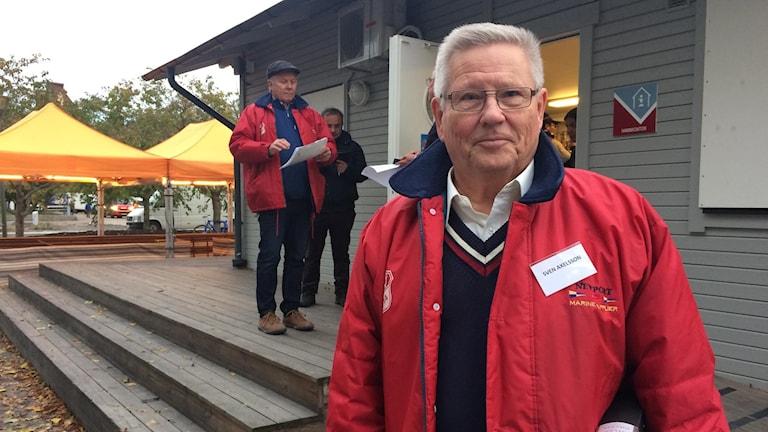 Marknadsgeneralen Sven Axelsson. Foto: Philip Johnsson/Sveriges Radio.
