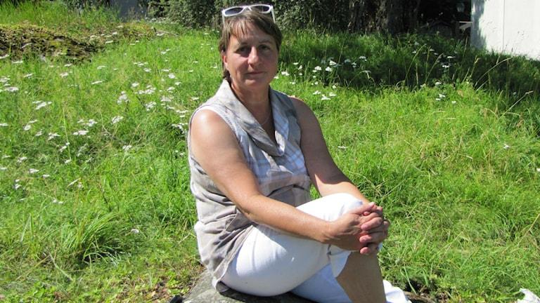 En bild på Elisebeth Markström. Foto: Urban Hedqvist/Sveriges Radio.