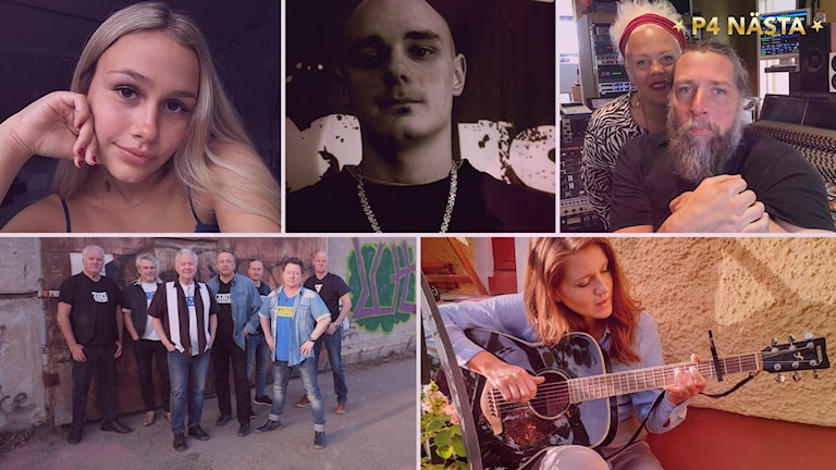 Alla finalister i P4 Nästa i Sörmland 2020.