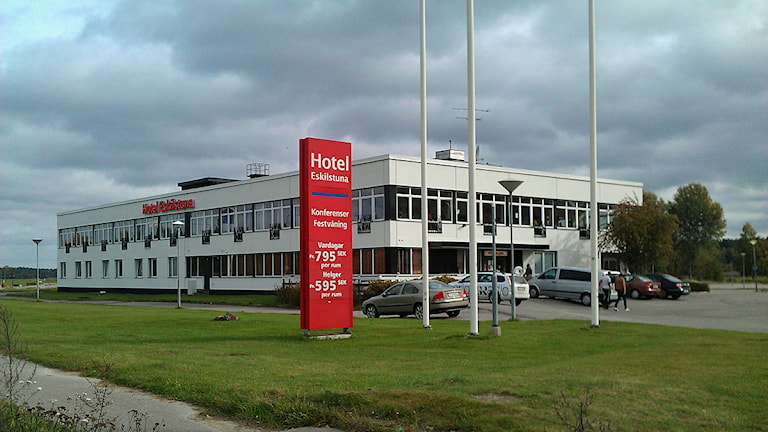 Hotell Eskilstuna. Foto: Petra Levison/Sveriges Radio.