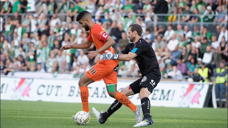 AFC Eskilstunas Omar Eddahri.