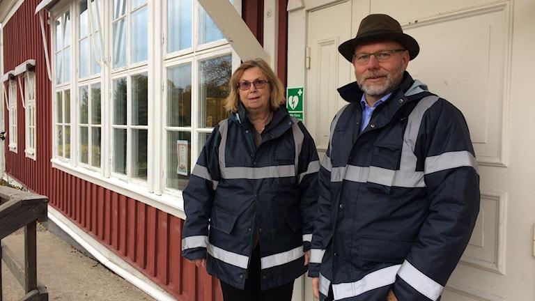 Eva Carlsson är administratör och Martin Larsson rektor på Vrena