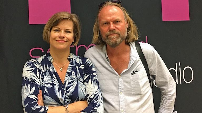 Iréne Karlbom Häll och Hans Gunnarsson.