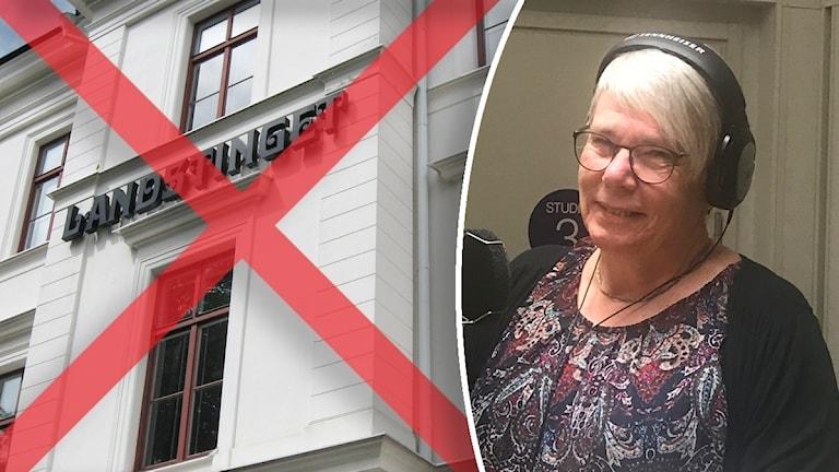 Monica Johansson Regionstyrelsens ordförande