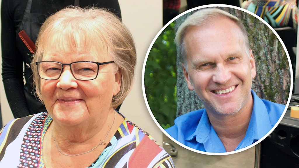 Gabriel Forss och mamma Christina Forss