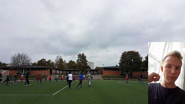 Feministisk fotboll i Brandkärr och Noah Gahnertz SSUordförande Nyköping