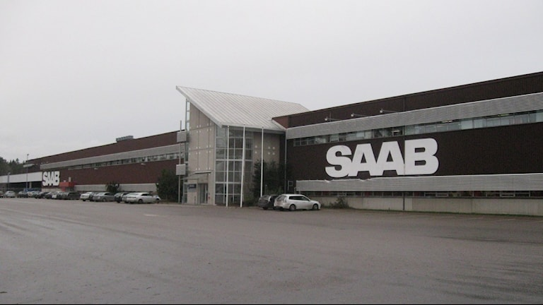 Saabs reservdelslager i Nyköping. Foto: Sara Samuelsson/Sveriges Radio