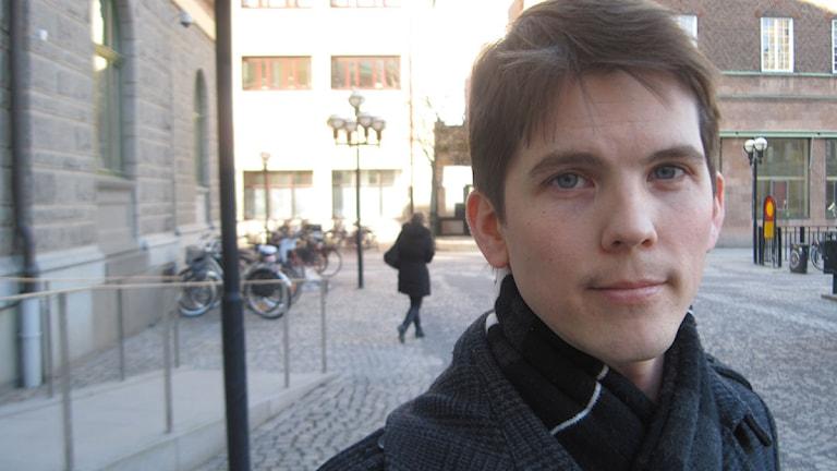 Magnus Arreflod (MP). Foto: Michael Berwick/Sveriges Radio