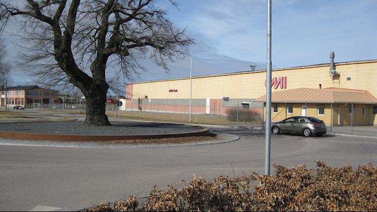 En gammal fabriksbyggnad i Eskilstuna. Foto: Fredrik Blomberg/Sveriges Radio