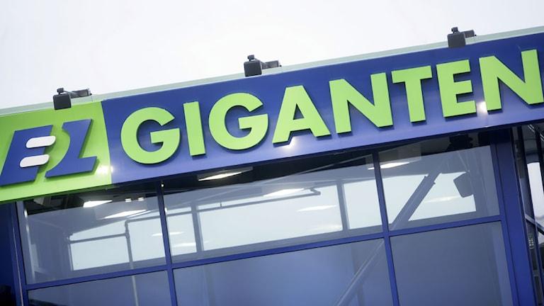 Elgigantens logotype. Foto: Fredrik Sandberg/Scanpix.