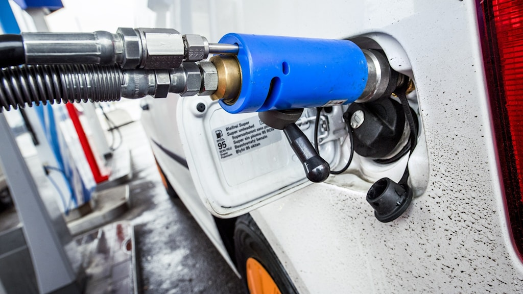 biogastankning