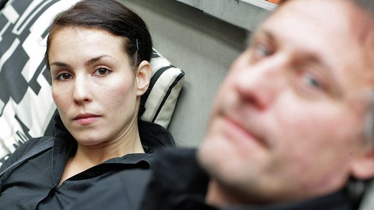 Noomi Rapace och Michael Nyqvist. Foto: Fredrik Persson/Scanpix.