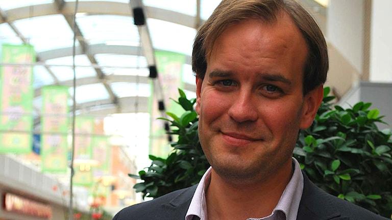 Magnus Johansson (MP) Foto:Sara Chogrich/Sveriges Radio.