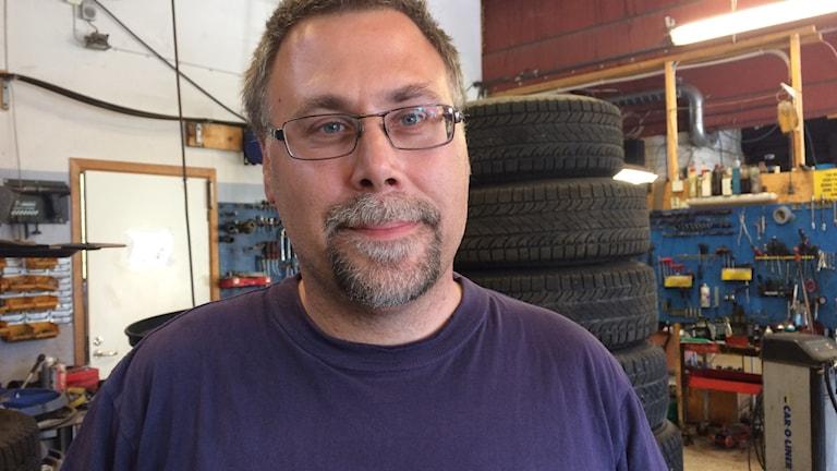 Ted Karlsson verkstadschef