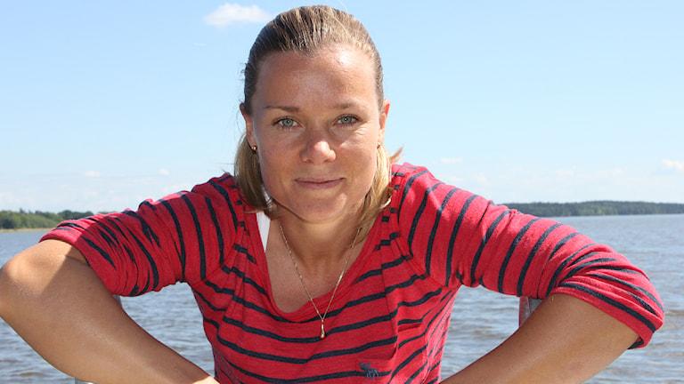 Sara Thunebro. Foto: Kerstin Svenson/Sveriges Radio.
