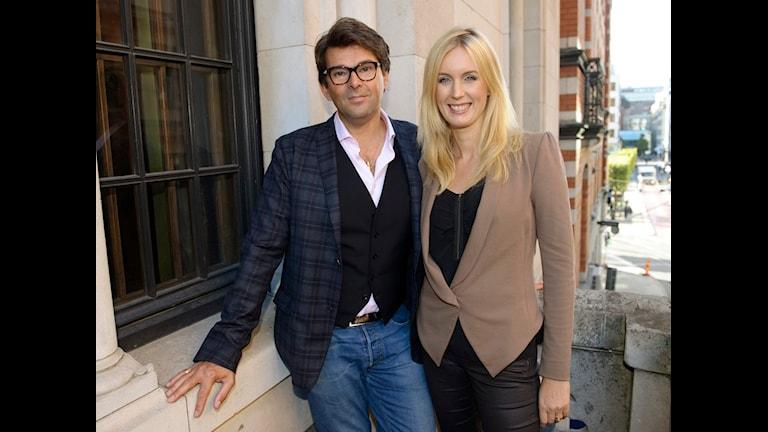 Niklas och Jenny Strömstedt. Foto: Henrik Montgomery/Scanpix