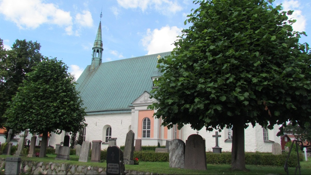 Alla helgona kyrka i Nyköping. Foto: Katarina Larsson/Sveriges Radio.