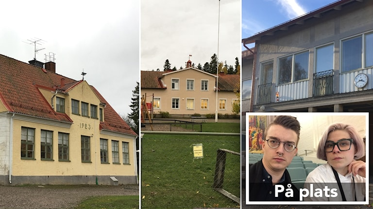 Nedläggningshotade skolor i Strängnäs.