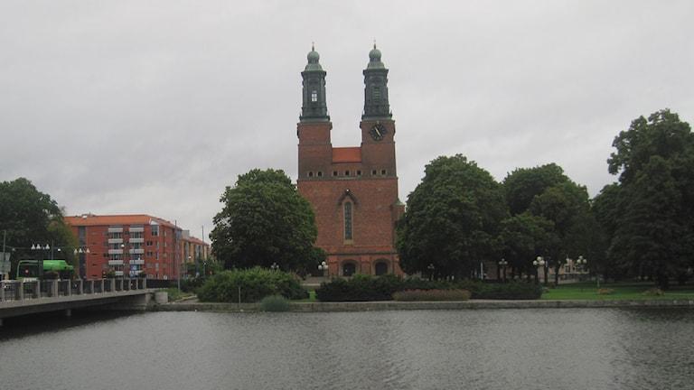 Kloster Kyrka i Eskilstuna. Foto: Maja Edsö/Sveriges Radio.