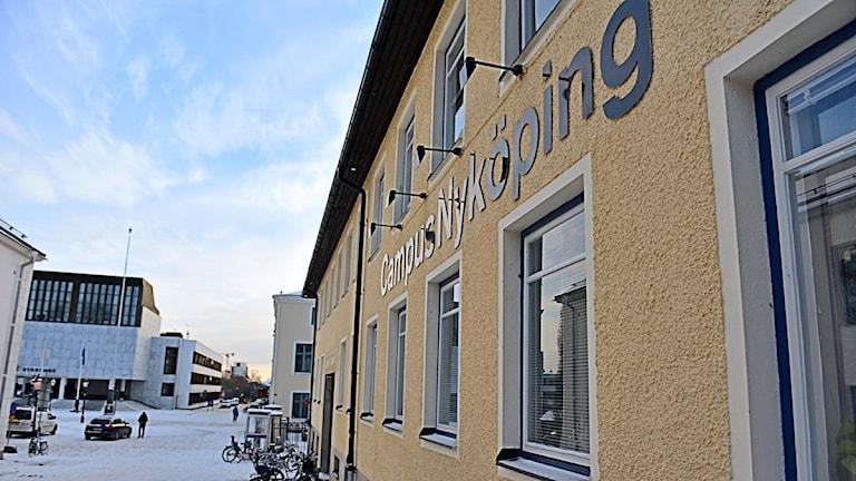 Campus Nyköping. Foto: Per Thyrén/Sveriges Radio.