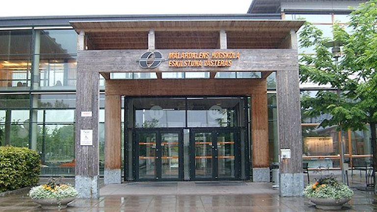 Mälardalens högskola. Foto: Elza Zandi/Sveriges Radio
