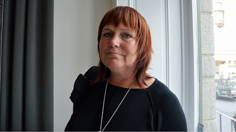Sarita Hotti, ordförande samhällsbyggnadsnämnden. Foto: Emma Stark/Sveriges Radio.