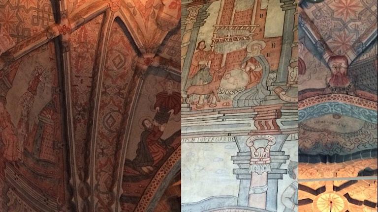 Målningar i Flens kyrka