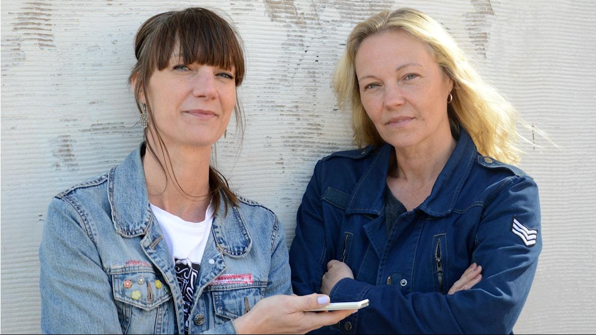 Kajsa Engstrand och Lena Appel.