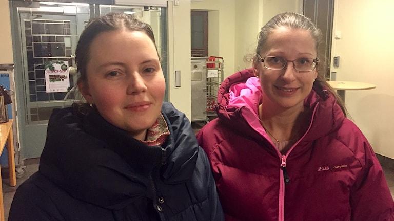 Lännaföräldrarna Carina Källkvist och Camilla Landahl
