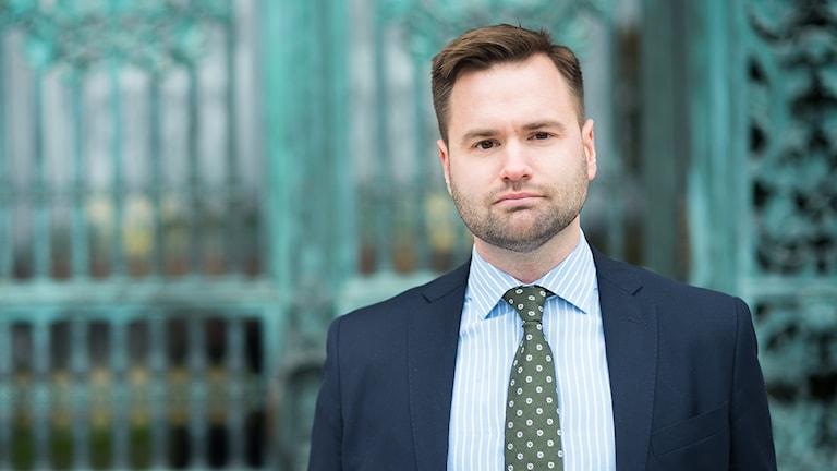 Erik Bengtzboe (M) riksdagsledamot och ordf i moderaternas länsförbund i Sörmland.