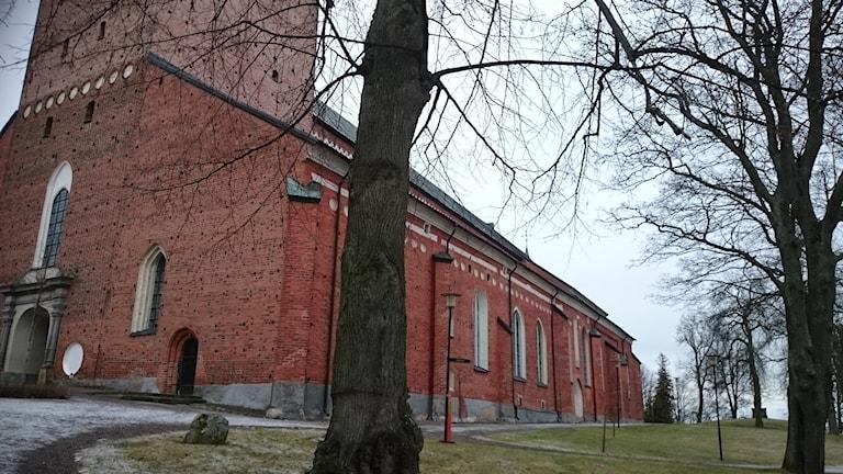 Domkyrkan och domkyrkoberget i Strängnäs