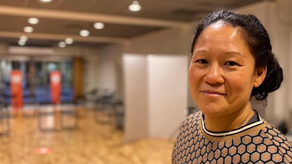 Josefin Lindberg är tjänsteutvecklare inom logistik på Region Sörmland.