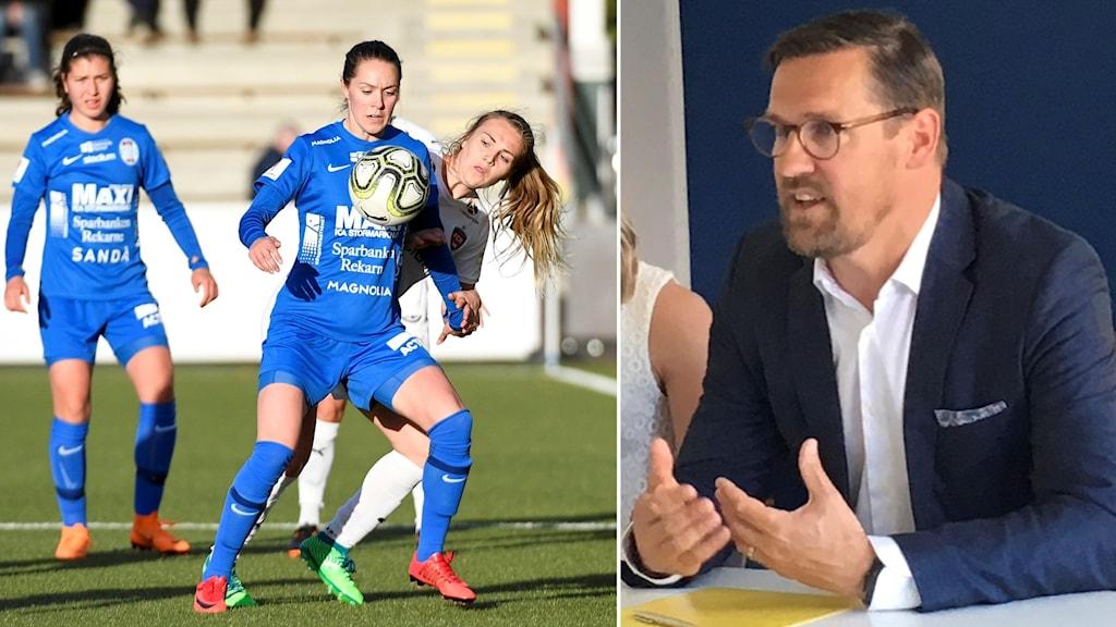 "Magnus ""Munken"" Karlsson och dottern Felicia Karlsson"