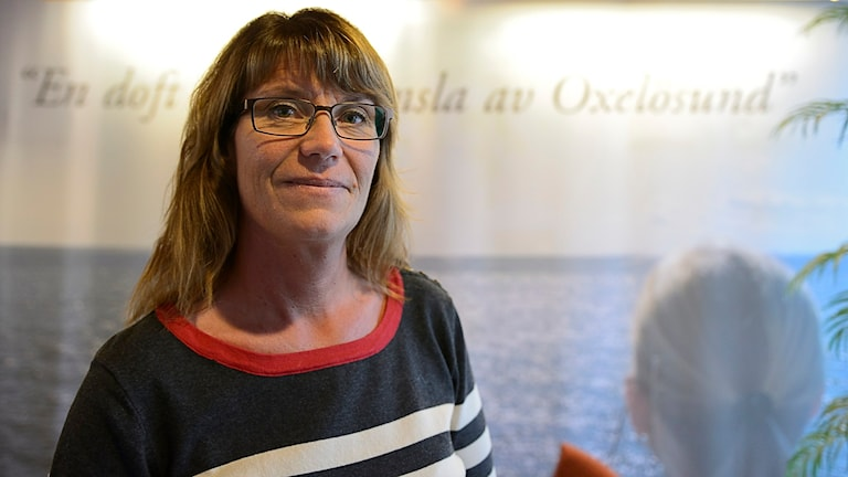 Catharina Fredriksson, KS ordf Oxelösund. Foto: Per Thyrén/Sveriges Radio.