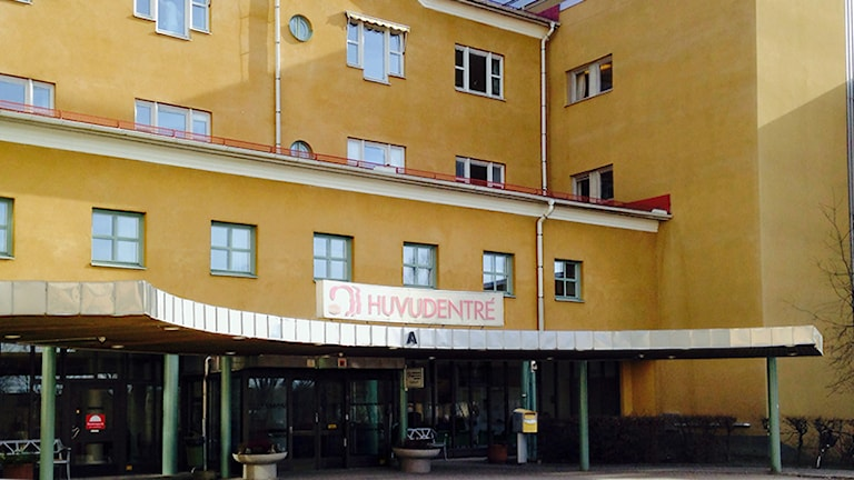 Kullbergska sjukhuset. Foto: Mikael Strang/Sveriges Radio.