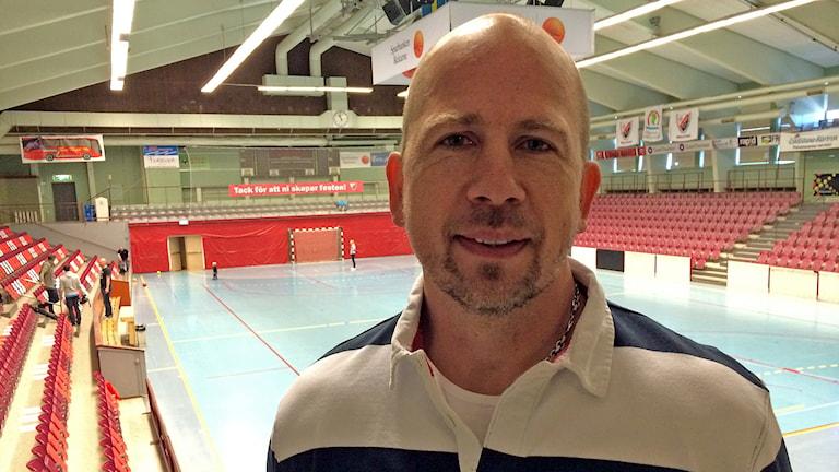 Jan Ekman, assisterande tränare. Foto: Fredrik Blomberg/Sveriges Radio.